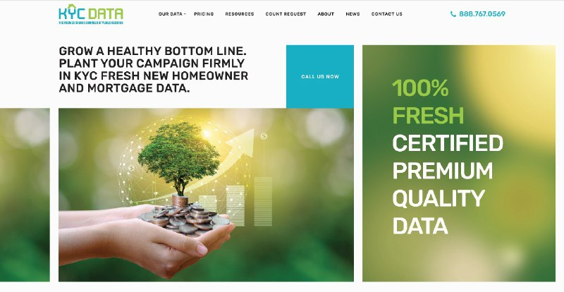 KYC Data Unveils Strategic Rebranding Initiative with Launch of Newly Redesigned Website and Corporate Logo